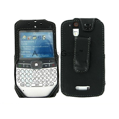 Premium Motorola Q9m Leather Case w/ Swivel Belt Clip