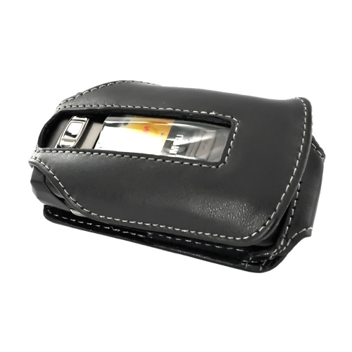 Premium Samsung T639 Leather Case w/ Swivel Belt Clip