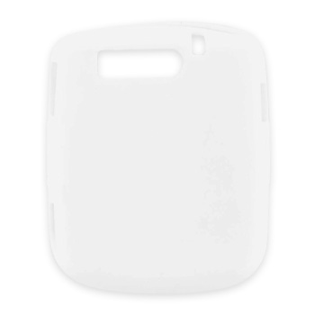 Verizon Blitz Silicone Case, Rubber Skin - Solid White