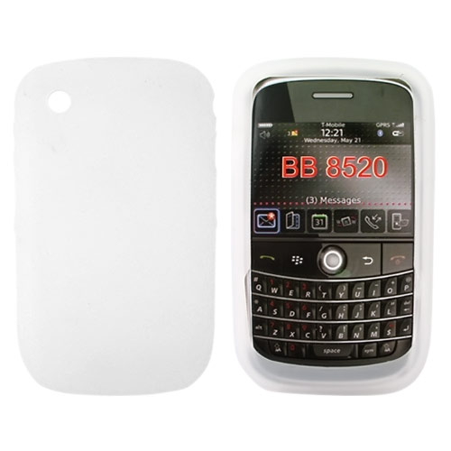 Blackberry Curve 3G 9330, 9300, 8520, 8530 Silicone Case - Frost White