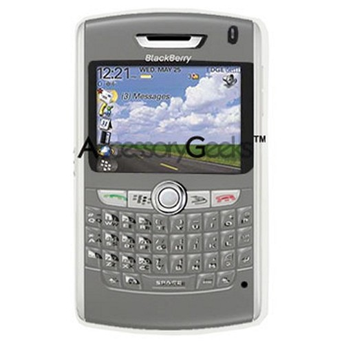 BlackBerry 8800 Silicone Case - Clear