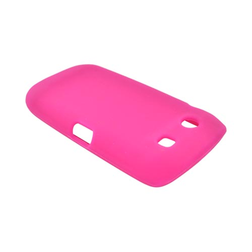 Blackberry Torch 9850 Silicone Case - Hot Pink