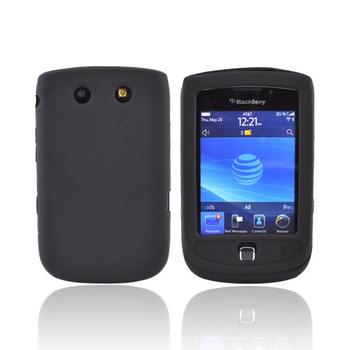 Blackberry Torch 9800 Silicone Case - Black