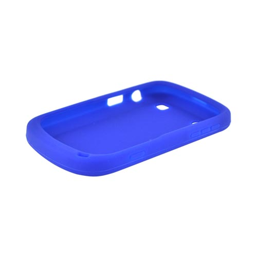 Blackberry Bold 9900, 9930 Silicone Case - Blue