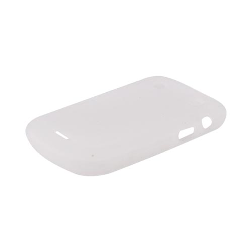 Blackberry Bold 9900, 9930 Silicone Case - Frost White