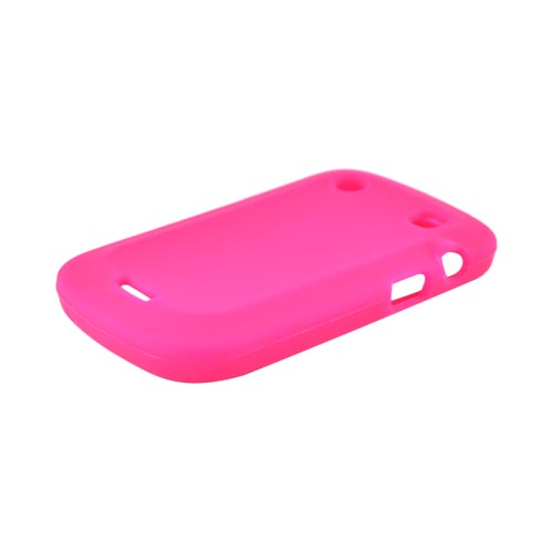Blackberry Bold 9900, 9930 Silicone Case - Hot Pink