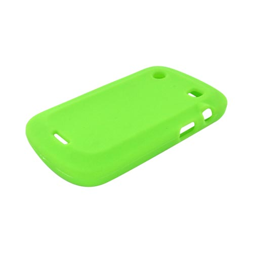 Blackberry Bold 9900, 9930 Silicone Case - Neon Green