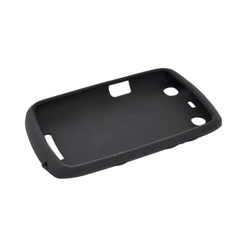 Blackberry Curve 9360/ Apollo Silicone Case - Black