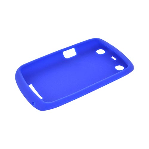 Blackberry Curve 9360/ Apollo Silicone Case - Blue
