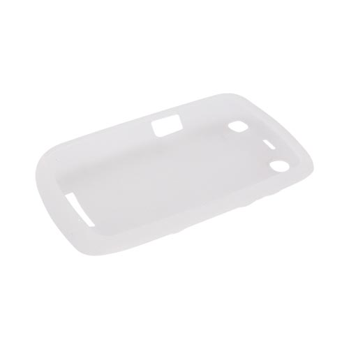 Blackberry Curve 9360/ Apollo Silicone Case - Frost White