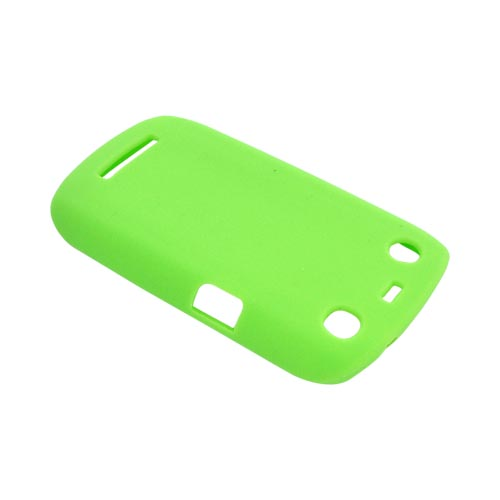 Blackberry Curve 9360/ Apollo Silicone Case - Green