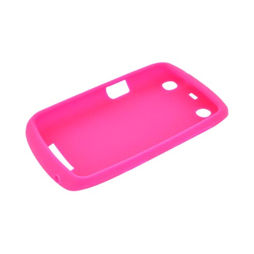 Blackberry Curve 9360/ Apollo Silicone Case - Hot Pink