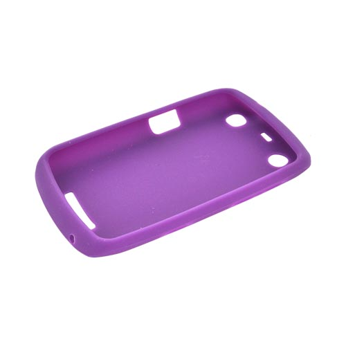 Blackberry Curve 9360/ Apollo Silicone Case - Purple
