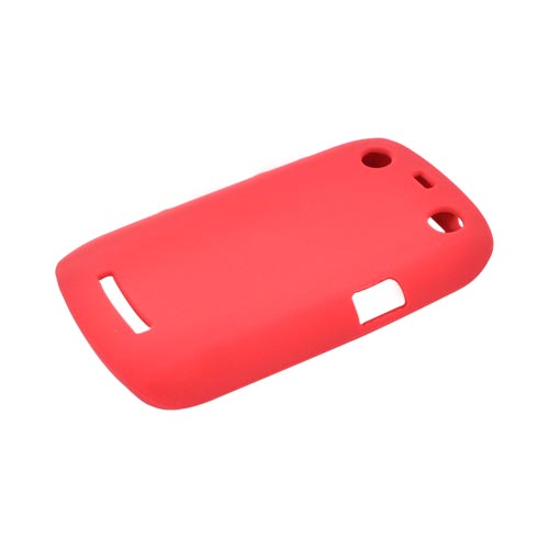 Blackberry Curve 9360/ Apollo Silicone Case - Red
