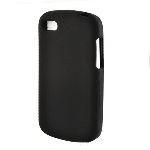 Black Silicone Case for Blackberry Q10