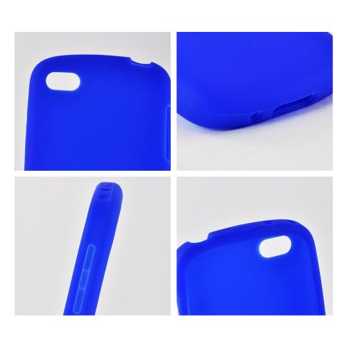 Blue Silicone Case for Blackberry Q10