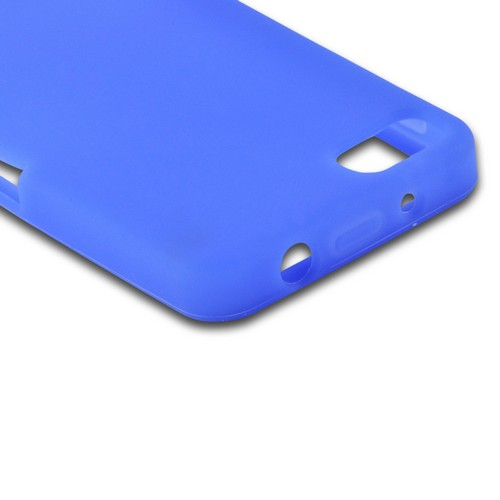 Blue Silicone Case for BlackBerry Z10