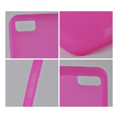 Hot Pink Silicone Case for BlackBerry Z10