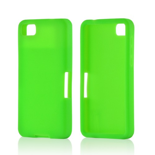 Neon Green Silicone Case for BlackBerry Z10