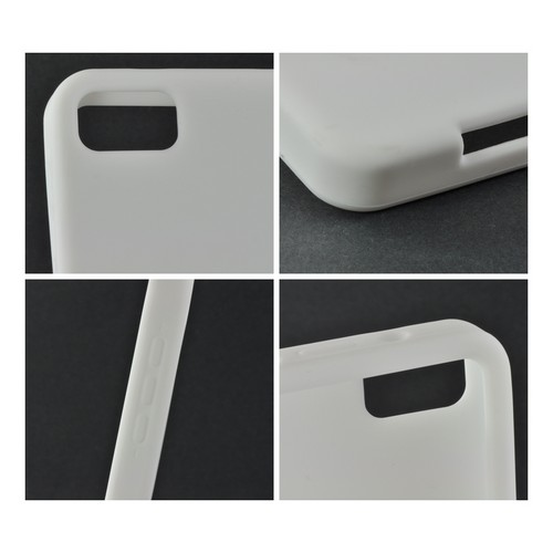 White Silicone Case for BlackBerry Z10