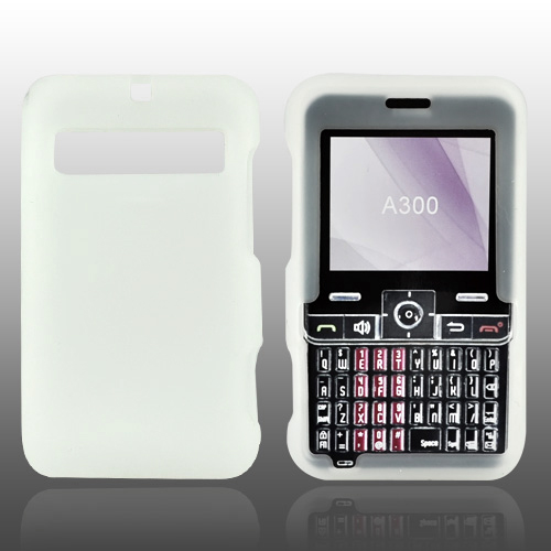 Cricket MSGM8 Silicone Case, Rubber Skin - Frost White