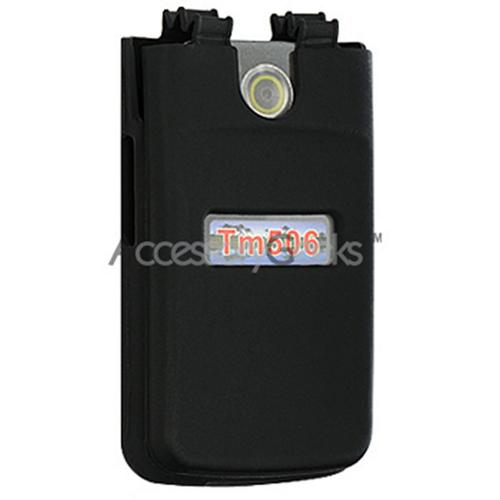 Sony Ericsson TM506 Silicone Case, Rubber Skin - Black