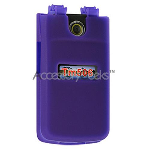 Sony Ericsson TM506 Silicone Case, Rubber Skin - Purple