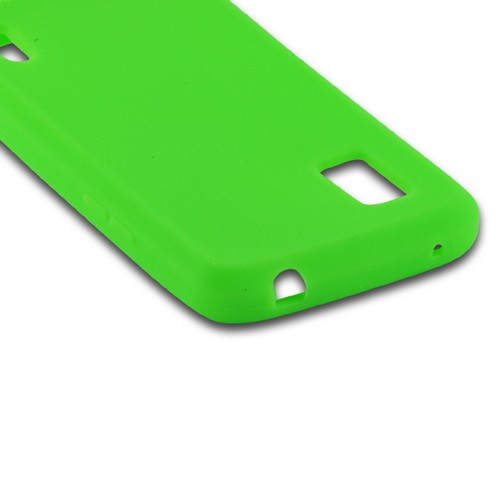 Green Silicone Case for Google Nexus 4