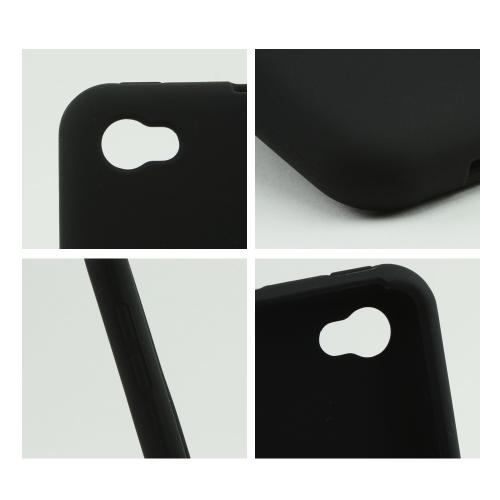 Black Silicone Case for HTC First
