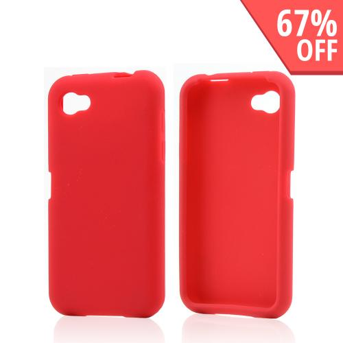 Red Silicone Case for HTC First