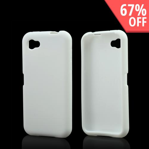 Solid White Silicone Case for HTC First