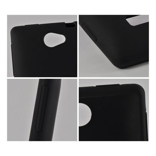 Black Silicone Case for HTC 8S