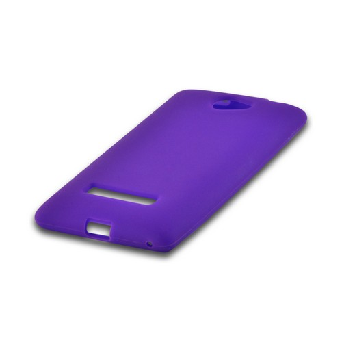 Purple Silicone Case for HTC 8S