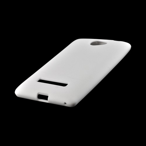 White Silicone Case for HTC 8S