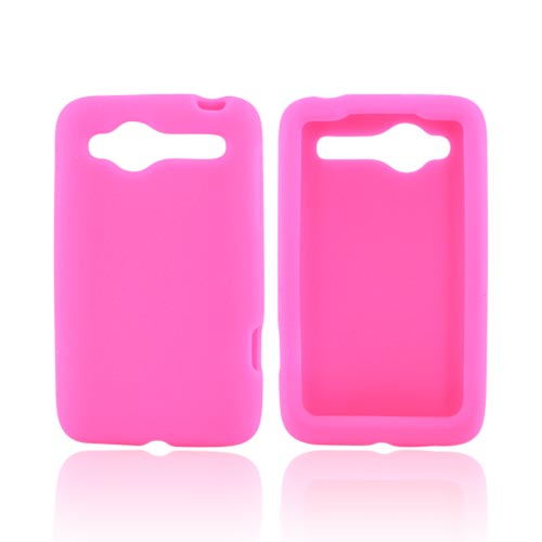 HTC Bee/Wildfire Silicone Case - Hot Pink