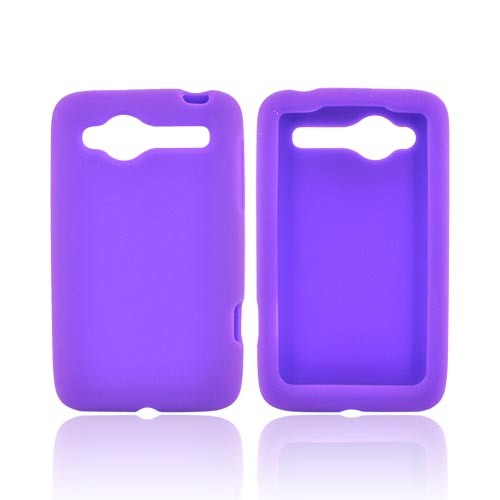 HTC Bee/Wildfire Silicone Case - Purple