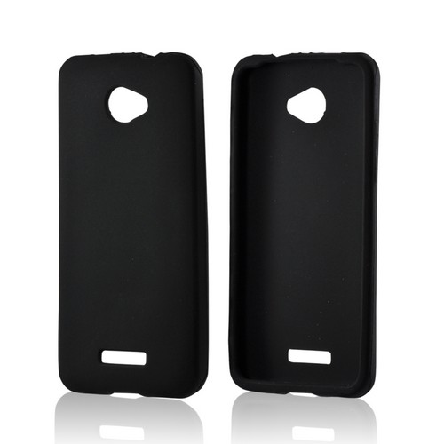 Black Silicone Case for HTC Droid DNA