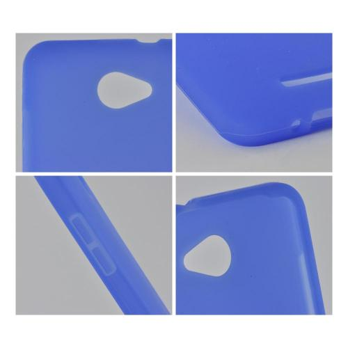 Blue Silicone Case for HTC Droid DNA