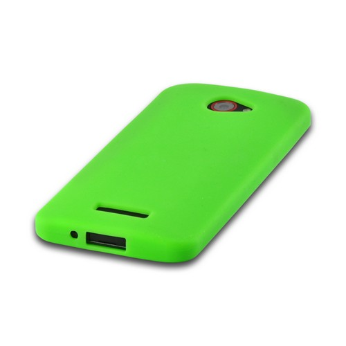 Neon Green Silicone Case for HTC Droid DNA