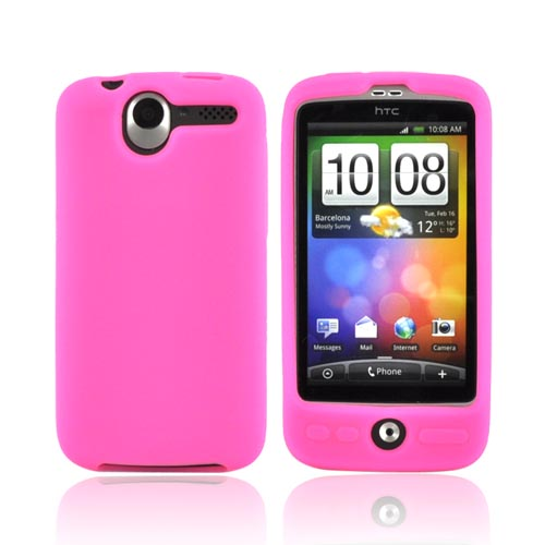 HTC Desire Silicone Case - Pink