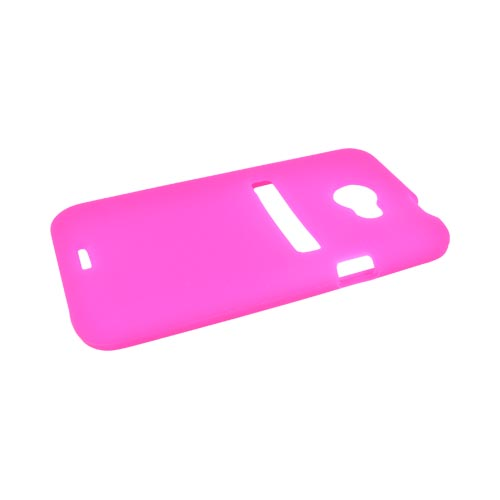 HTC EVO 4G LTE Silicone Case - Hot Pink