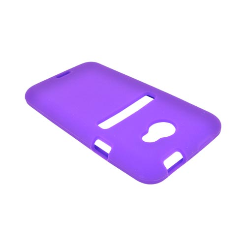 HTC EVO 4G LTE Silicone Case - Purple