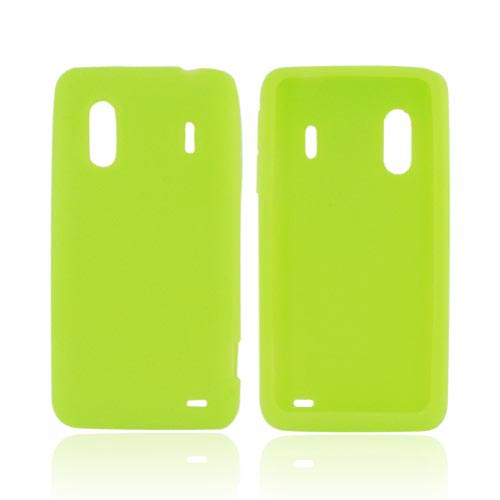 HTC EVO Design 4G Silicone Case - Neon Green