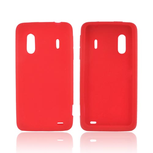 HTC EVO Design 4G Silicone Case - Red