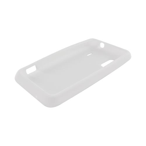 HTC EVO Design 4G Silicone Case - Solid White