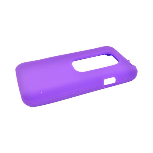 HTC EVO 3D Silicone Case - Purple