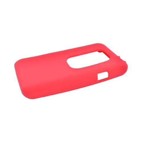 HTC EVO 3D Silicone Case - Red