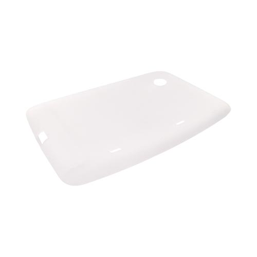 HTC EVO View 4G / HTC Flyer Silicone Case - Frost White