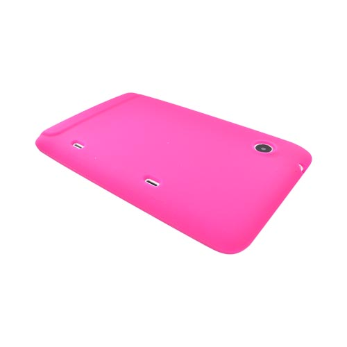 HTC EVO View 4G / HTC Flyer Silicone Case - Hot Pink