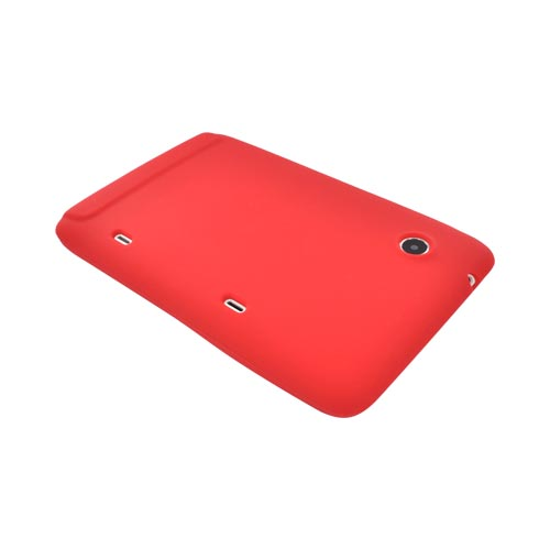 HTC EVO View 4G/ HTC Flyer Silicone Case - Red